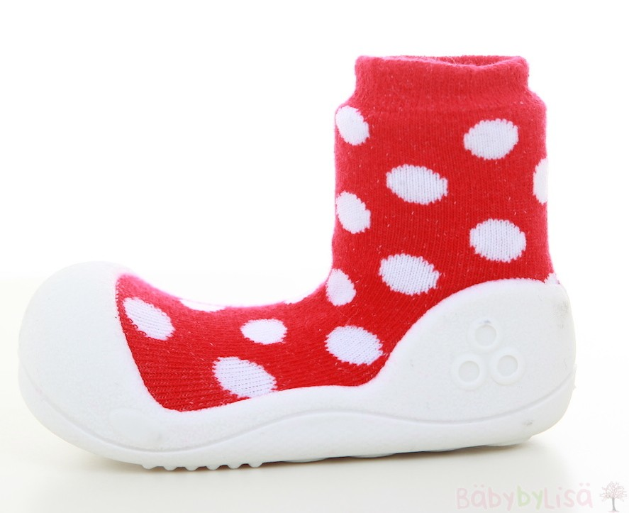 Attipas Polka Dot - Red