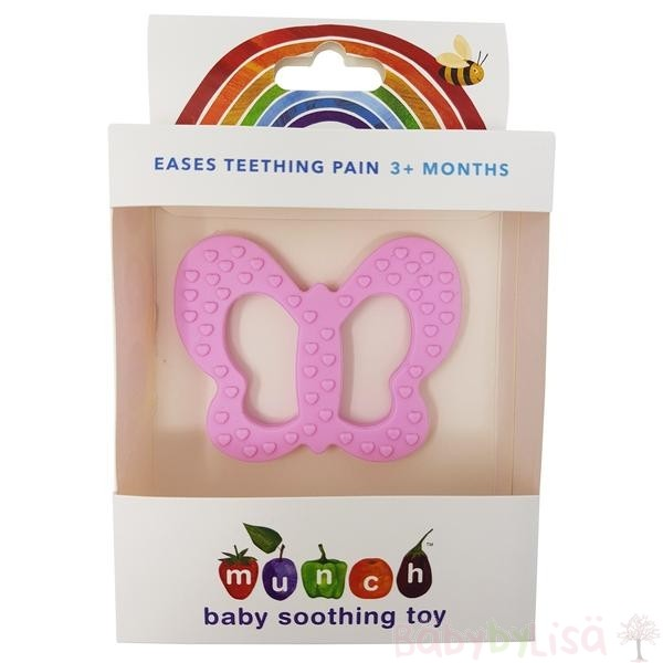 Soothing Toy Butterfly Pink