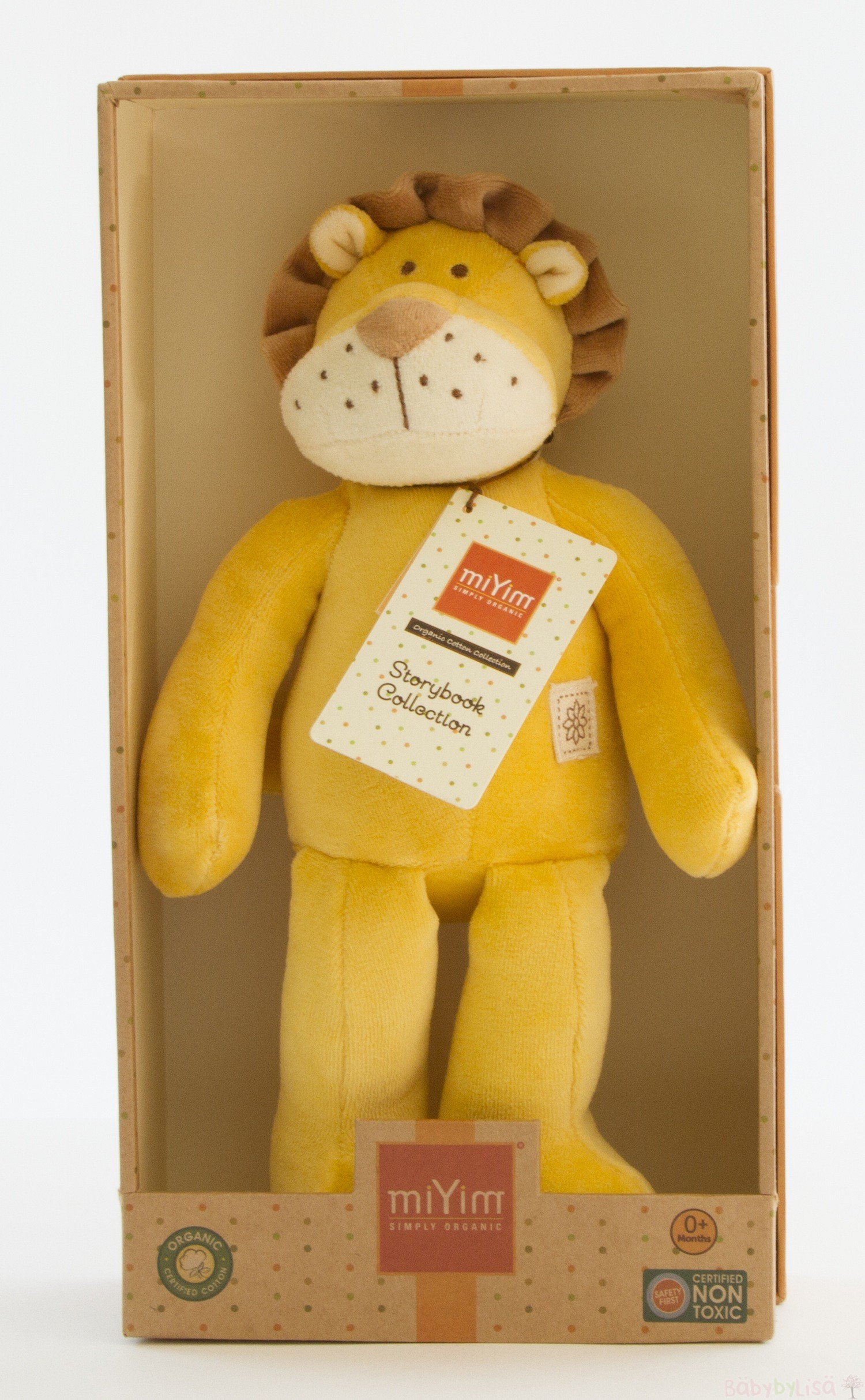 miYim Storybook  Plush - Lion