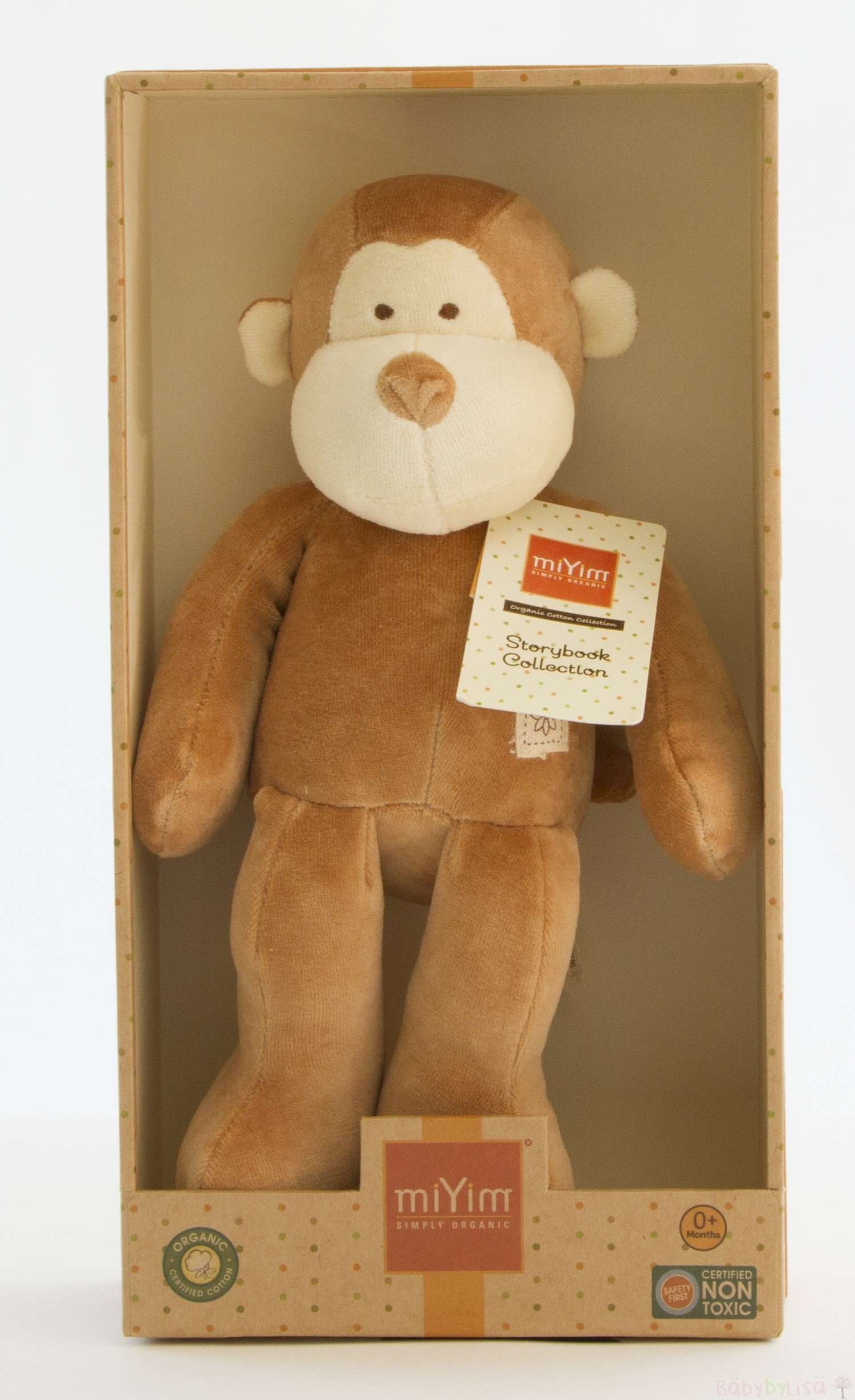 miYim Storybook Plush Toy - Monkey