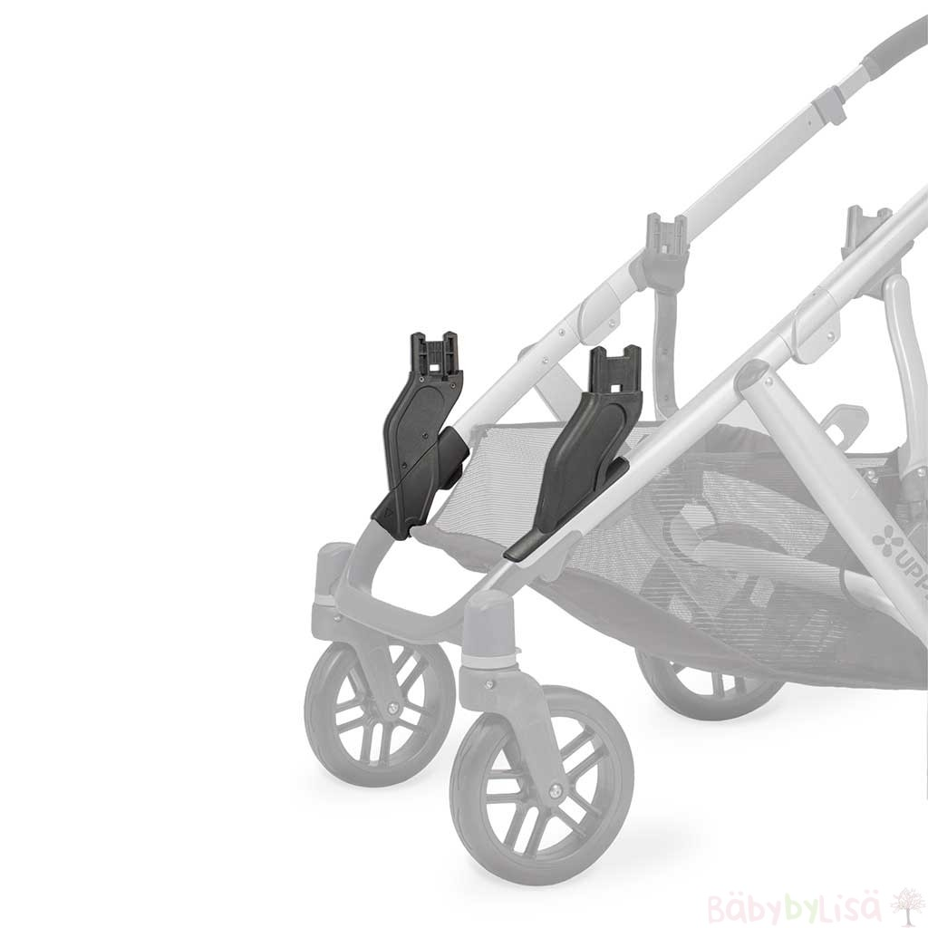 UPPAbaby Vista Lower Adapters on pram