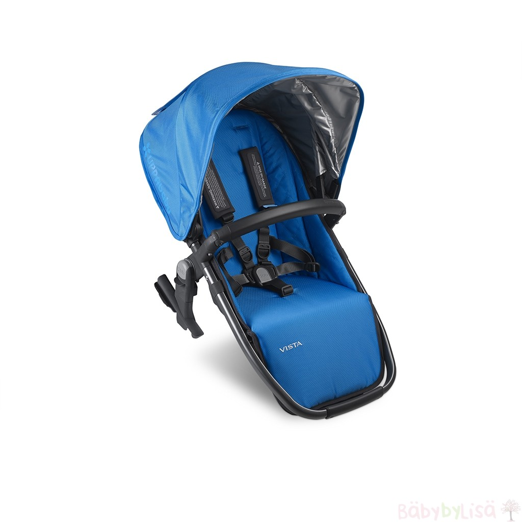UPPAbaby VISTA Rumble seat - Marine Blue/Graphite (Georgie)