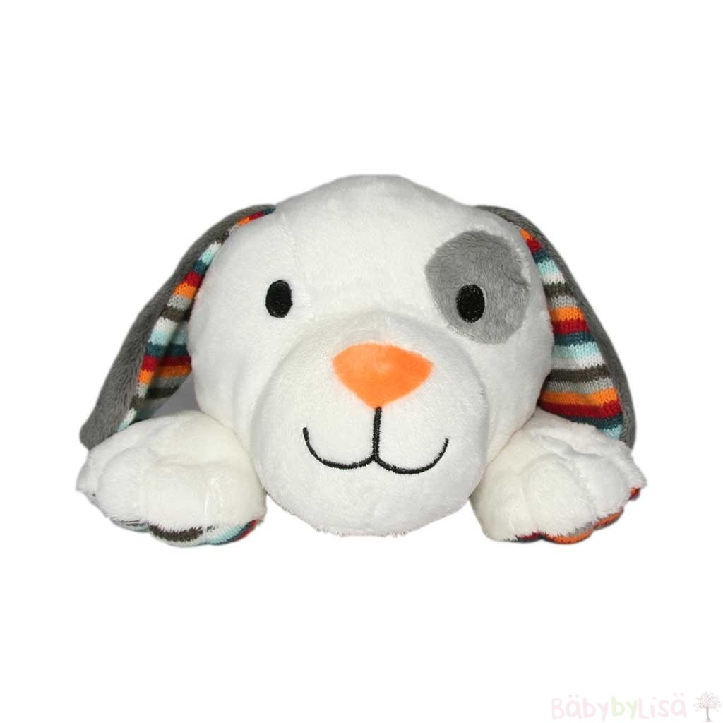 "Dex the Dog - heartbeat toy remedy for ""my baby won't sleep"""
