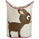3 Sprouts Laundry Hamper / Laundry Basket - Deer Design