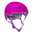 Globber_helmet_magnetic catch_pink