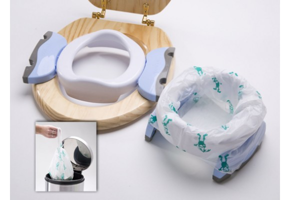 Baby U Potette Plus portable potty and toilet trainer