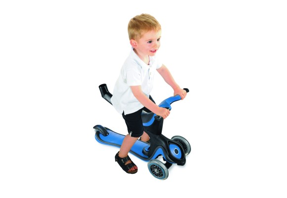 GLOBBER 5 in 1 with child - Blue