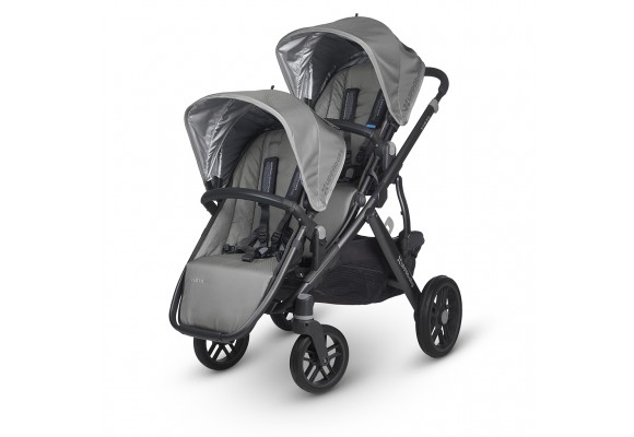 UPPAbaby VISTA Rumble seat installed - Grey/Graphite (Pascal)